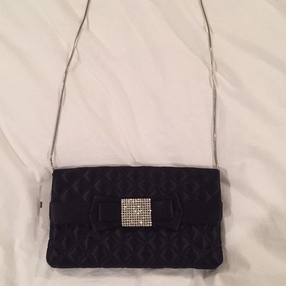 d841bba15352 NWT Black saks evening bag. NWT. Saks Fifth Avenue Black Label